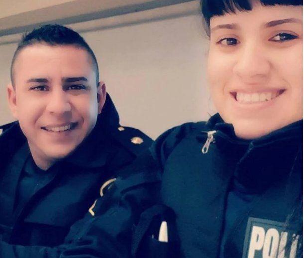 Lourdes Espíndola junto a su marido Fernando Altamirano.