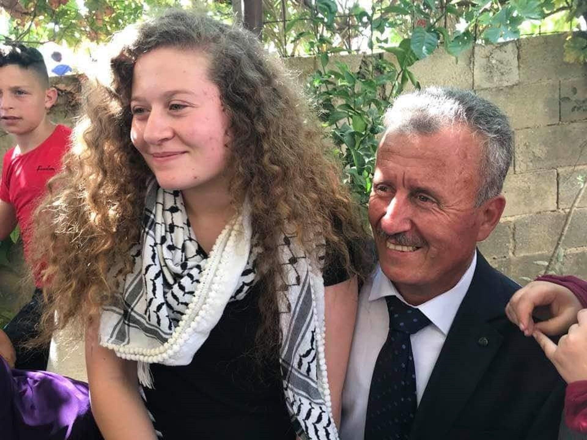 Liberaron a Ahed Tamimi