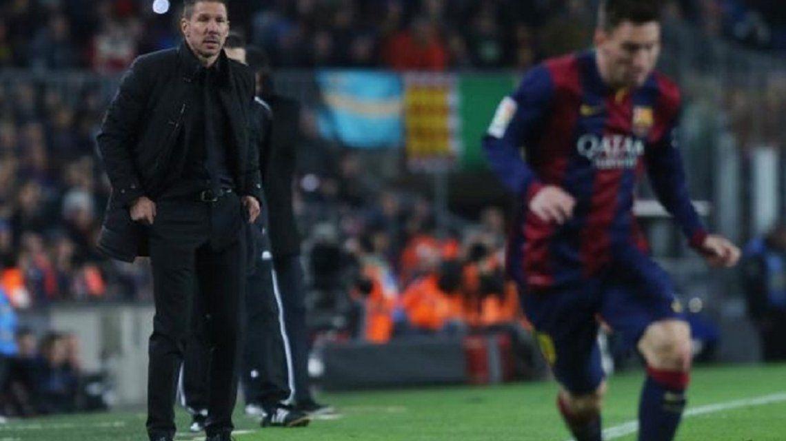 Simeone y Messi