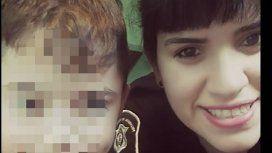 Lourdes Espíndola y su hijo de seis años