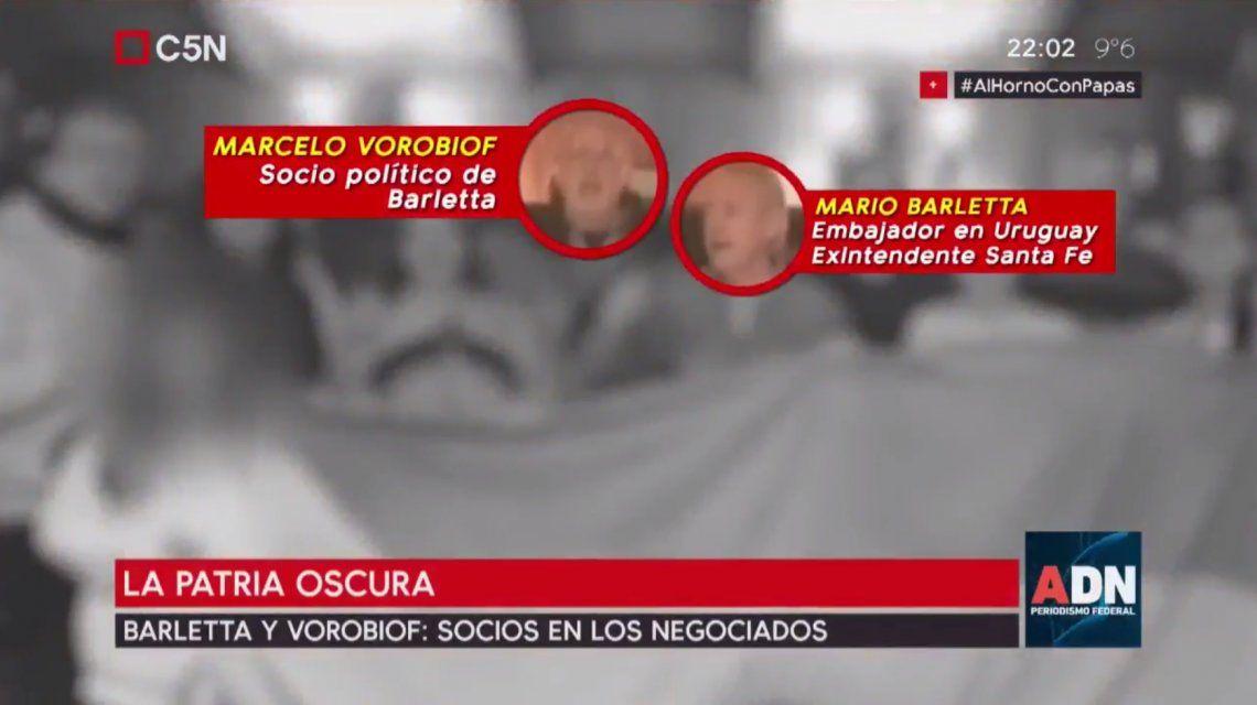 Marcelo Vorobiof y Mario Barletta