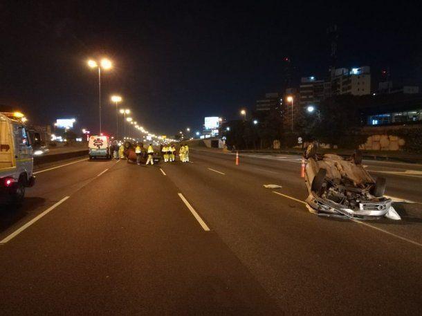 Ambulancias de Autopistas del Sol retiraron los vehículos rápidamente<br>