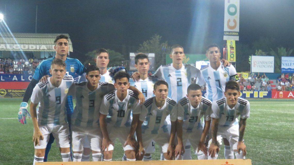 La Selección Sub 20 arrancó goleando
