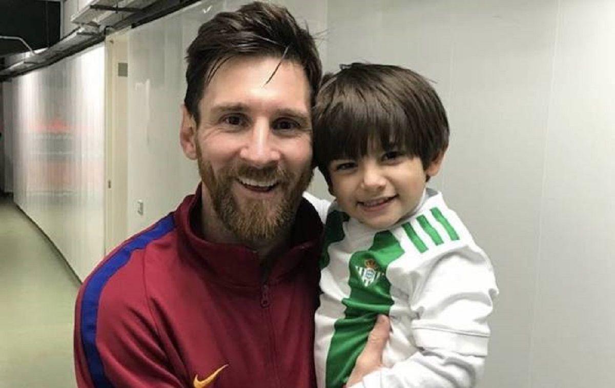 El gesto de Messi con el nene de Andrés Guardado