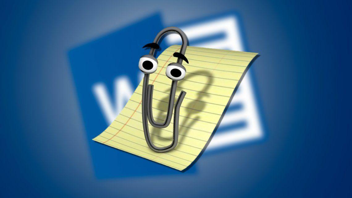 ¡Furor en las redes! El recordado clip que te ayudaba en el Word consiguió nuevo trabajo