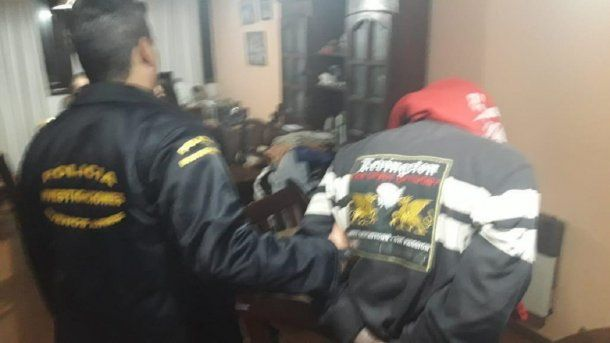 Así trasladaban a Jorge Pablo Di Blasi, acusado por el crimen de Lourdes Espíndola<br>