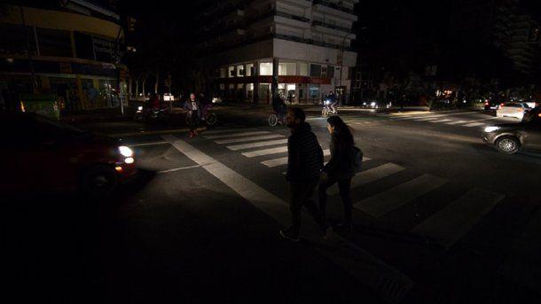 Por varias horas una de las ciudades más pobladas de la Argentina estuvo en penumbras<br>