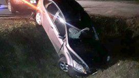 El airbag del vehículo hizo que el accidente no tuviera mayores consecuencias