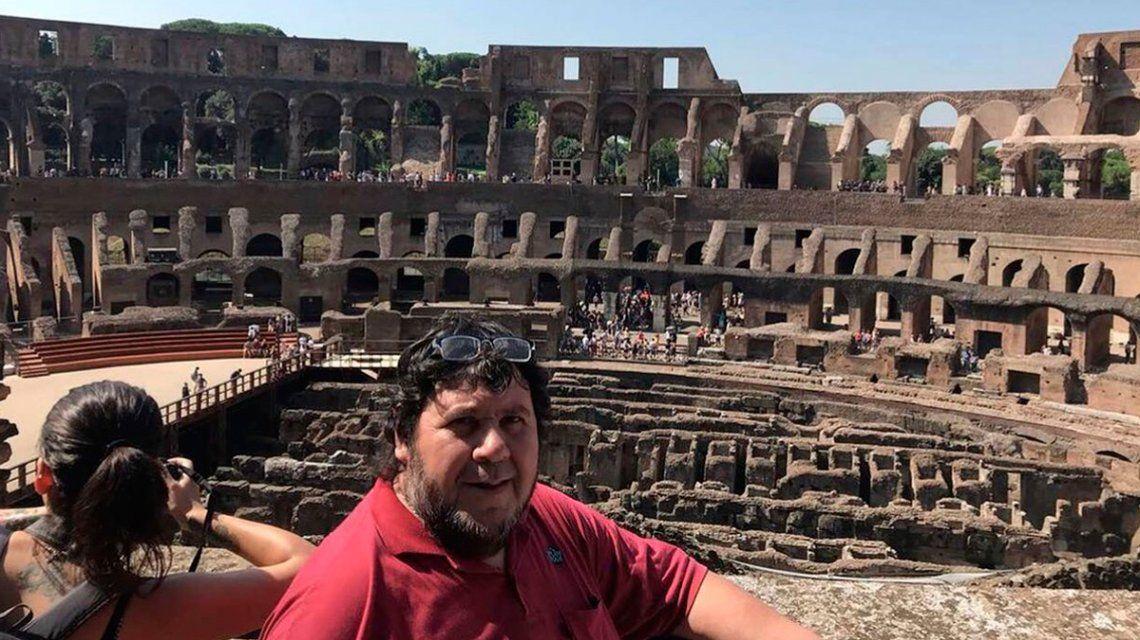 Segovia justificó su viaje a Roma: Es algo espiritual, no uso la guita del sindicato