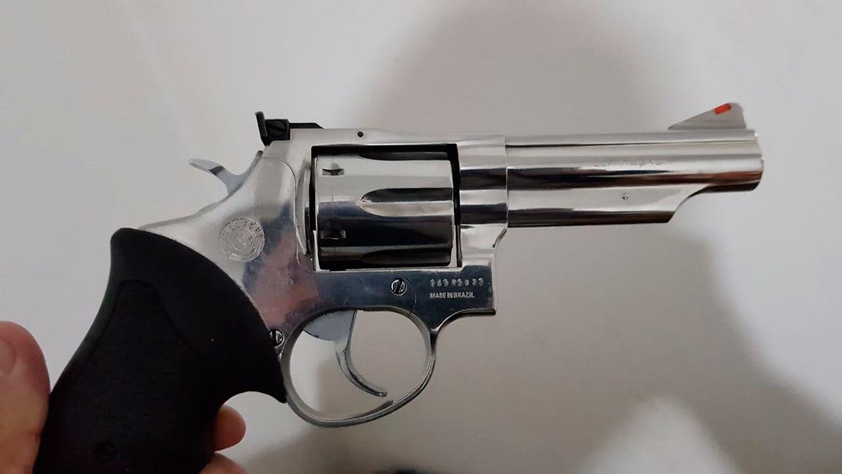 Esta es una de las armas secuestradas