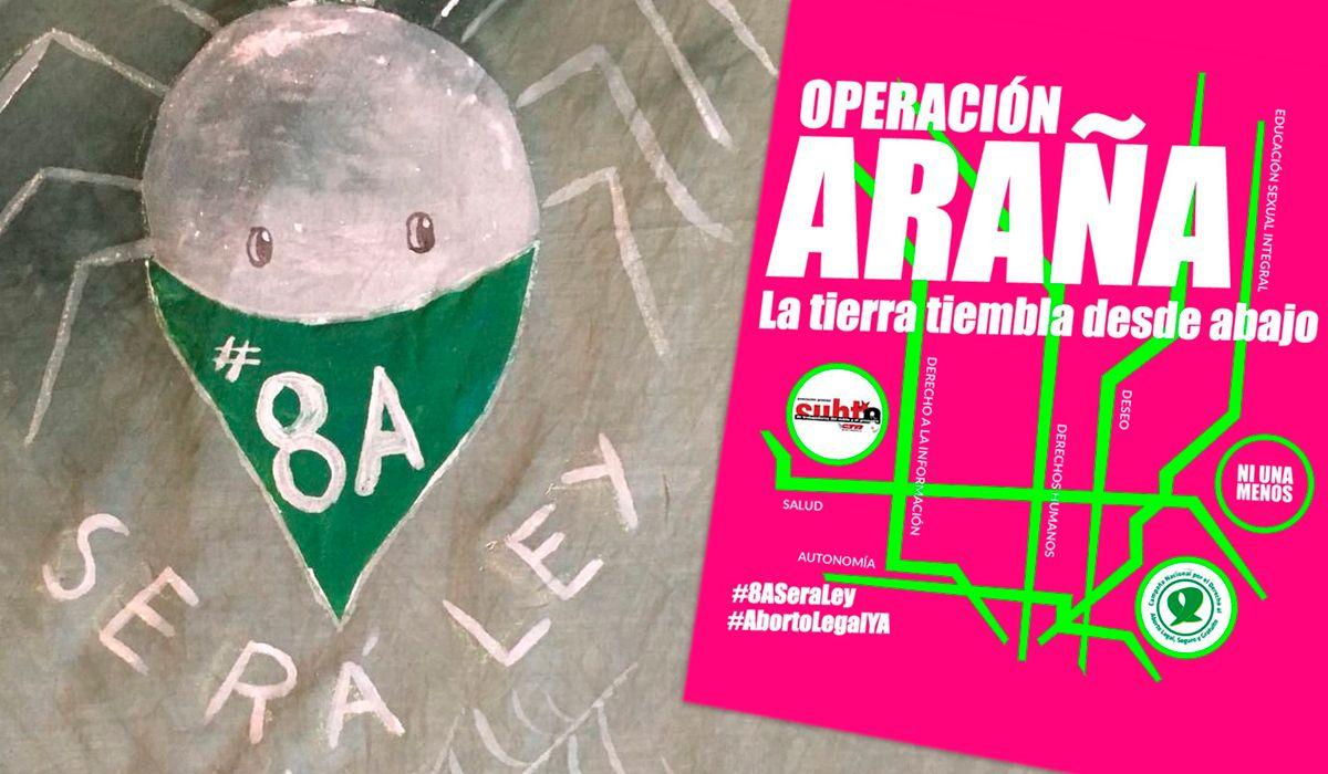 Operación Araña: La tierra tiembla desde abajo
