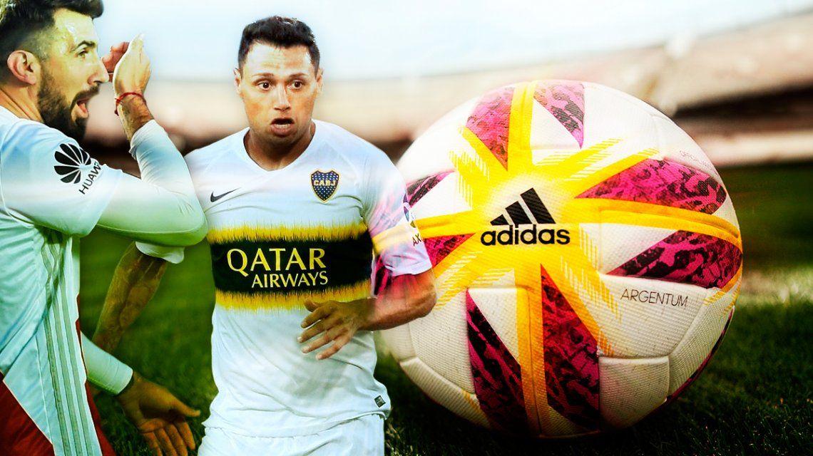Todo listo: la Superliga que se viene ya tiene su pelota oficial