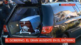 Con la presencia del jefe de la Bonaerense, despidieron los restos de Lourdes