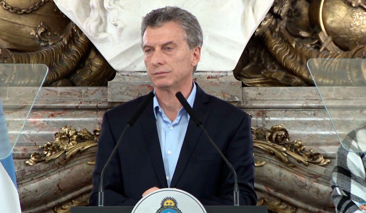 Macri: El problema de fondo no va a cambiar con una ley más, una ley menos