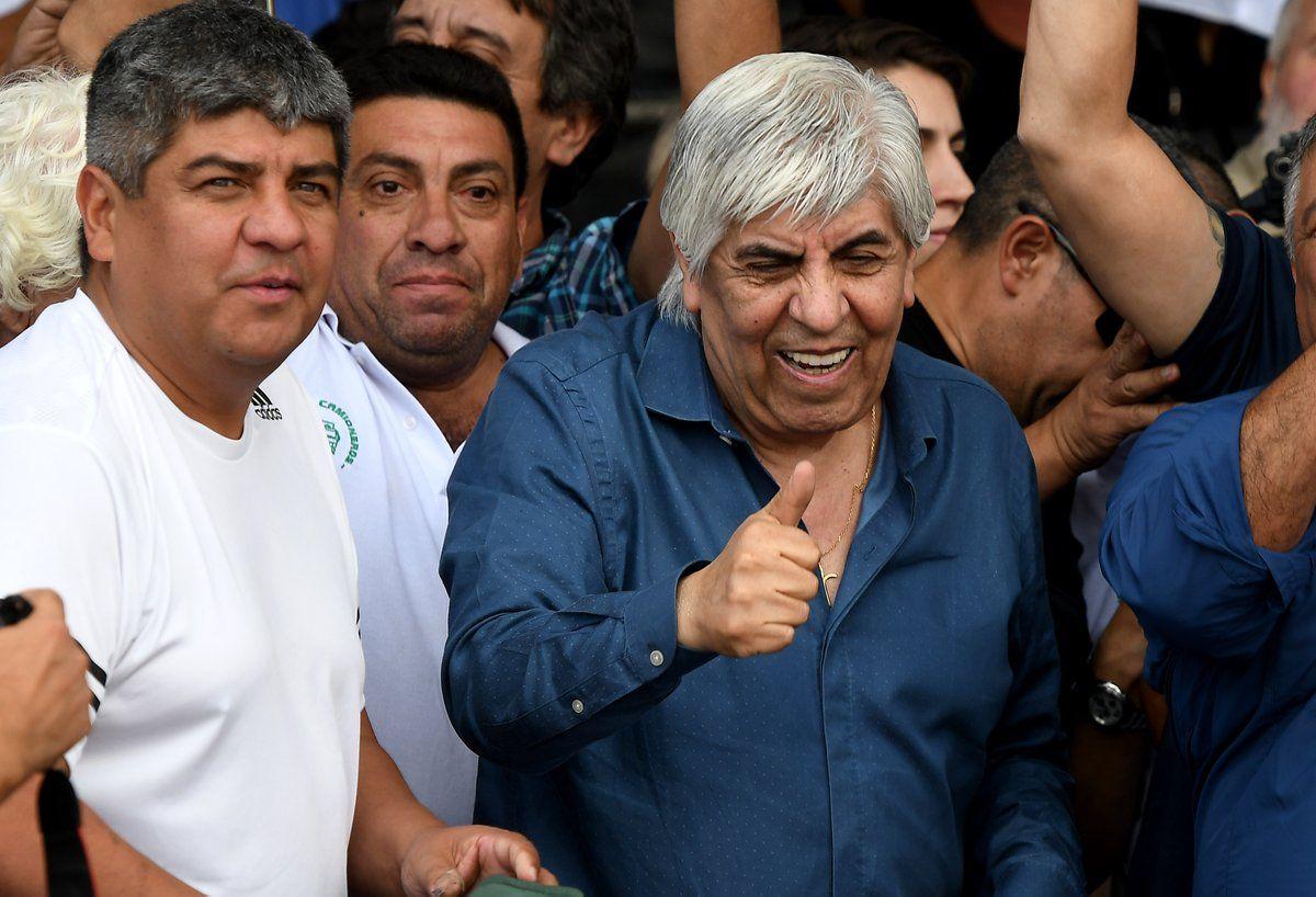 Moyano tras el encuentro con Cristina: Nos acercó las políticas del gobierno de Macri