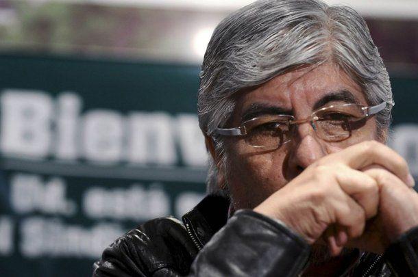 <p>Hugo Moyano denunció a Jorge Triaca por la multa millonaria a Camioneros.</p>