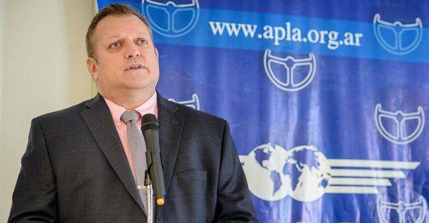 Pablo Biró, secretario general de APLA<br>