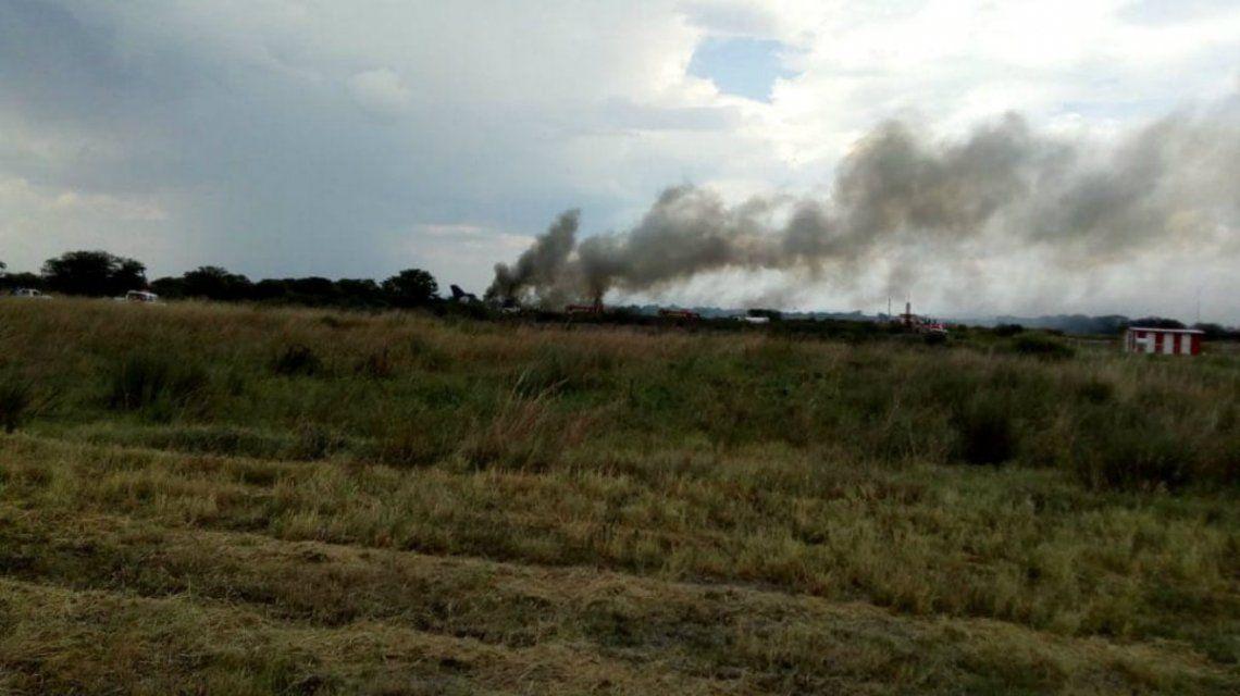 Oficialmente no hay víctimas fatales del accidente aéreo en Durango