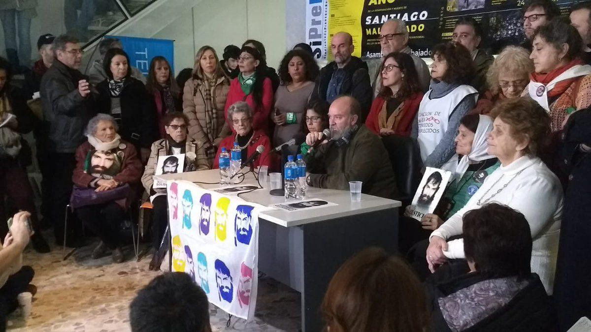 Sergio Maldonado pidió que lo acompañen en Plaza de Mayo