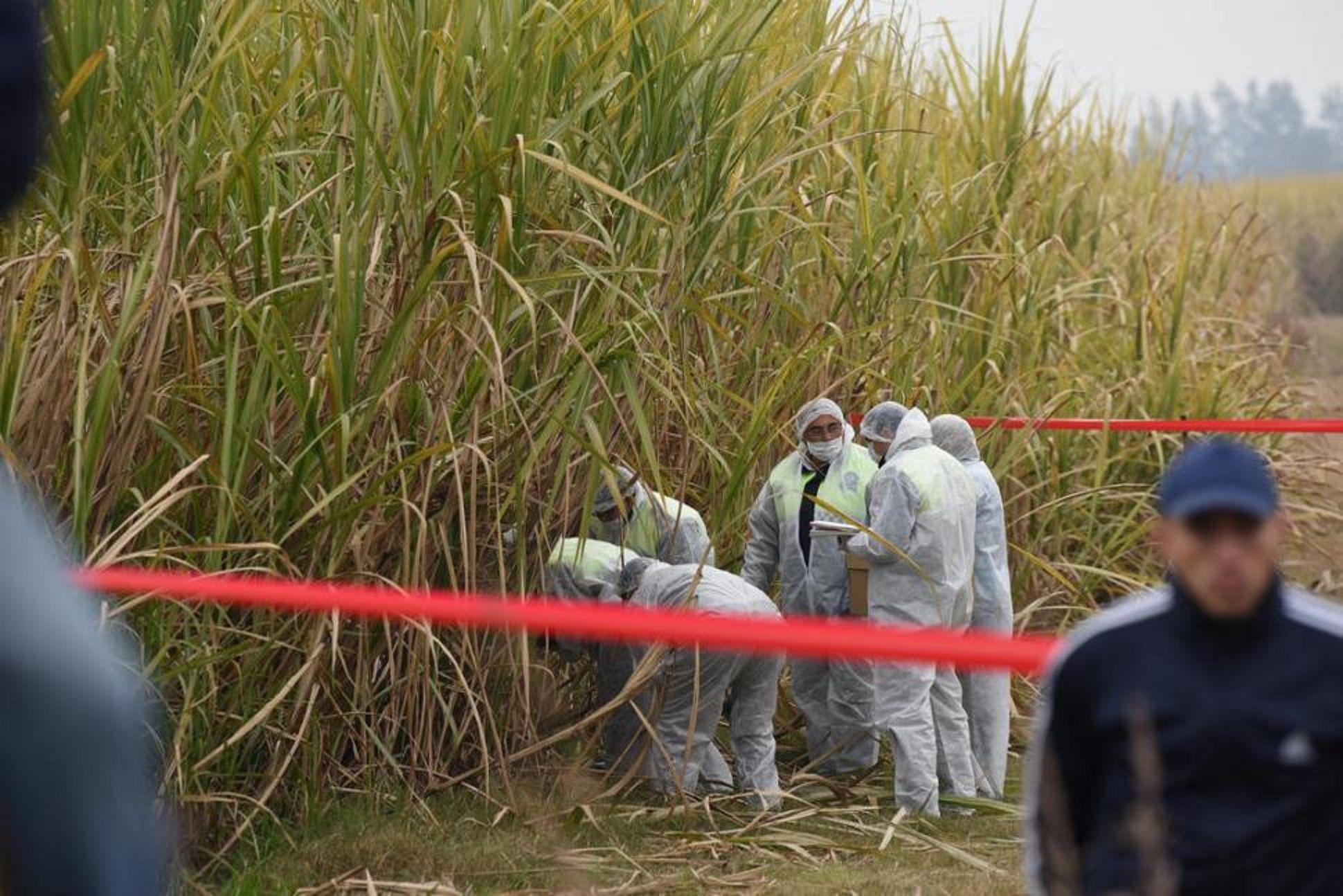 Sector donde fue hallado el cuerpo de la joven. Foto: La Gaceta.
