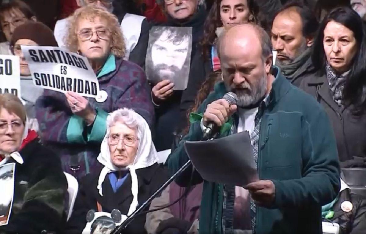 Masiva marcha en Plaza de Mayo, a un año de la desaparición de Santiago Maldonado