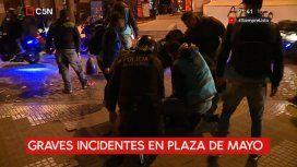Varios detenidos tras la marcha a un año de la desaparición de Santiago Maldonado