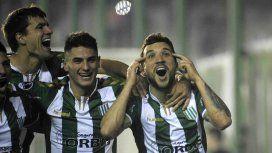 Bertolo marcó dos goles y fue la figura del partido