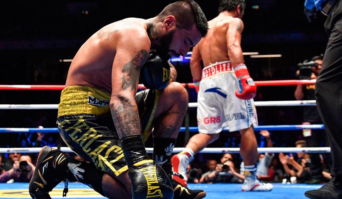 Lucas Matthysse fue uno de los mejores boxeadores argentinos de la última década