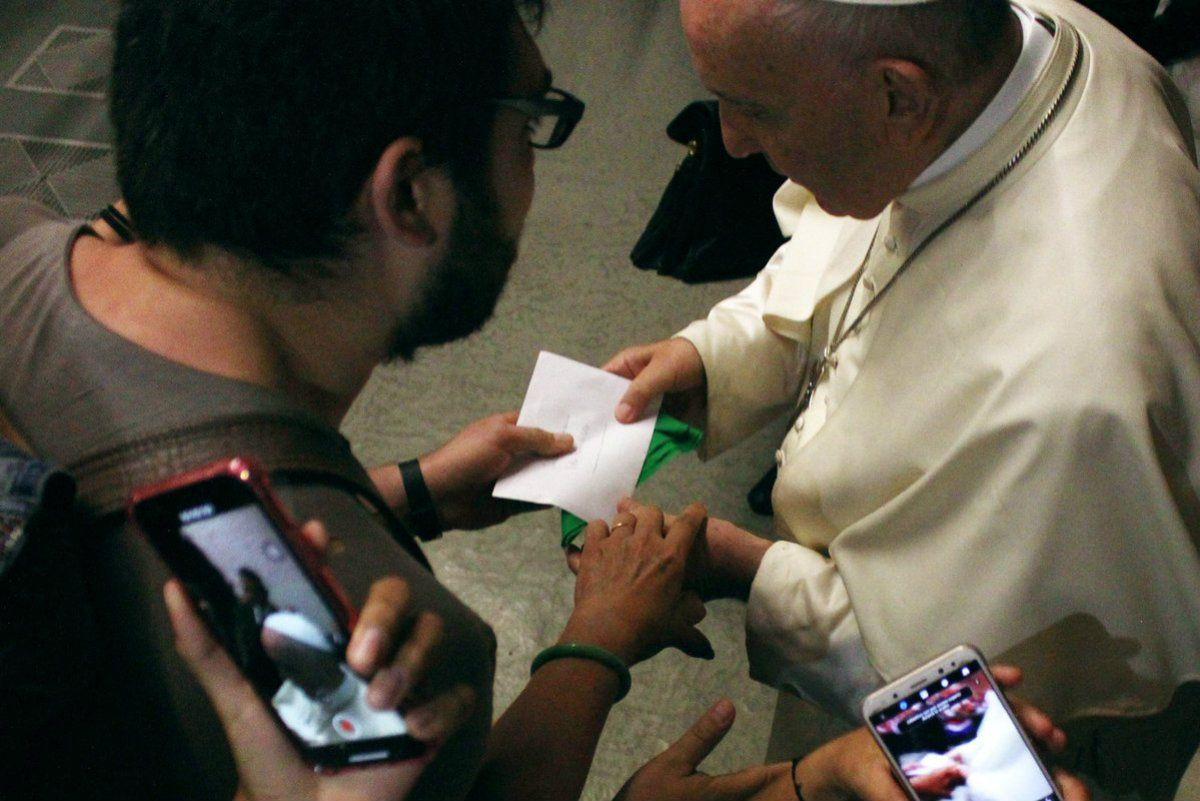 Carta de un argentino en Roma a otro en el Vaticano