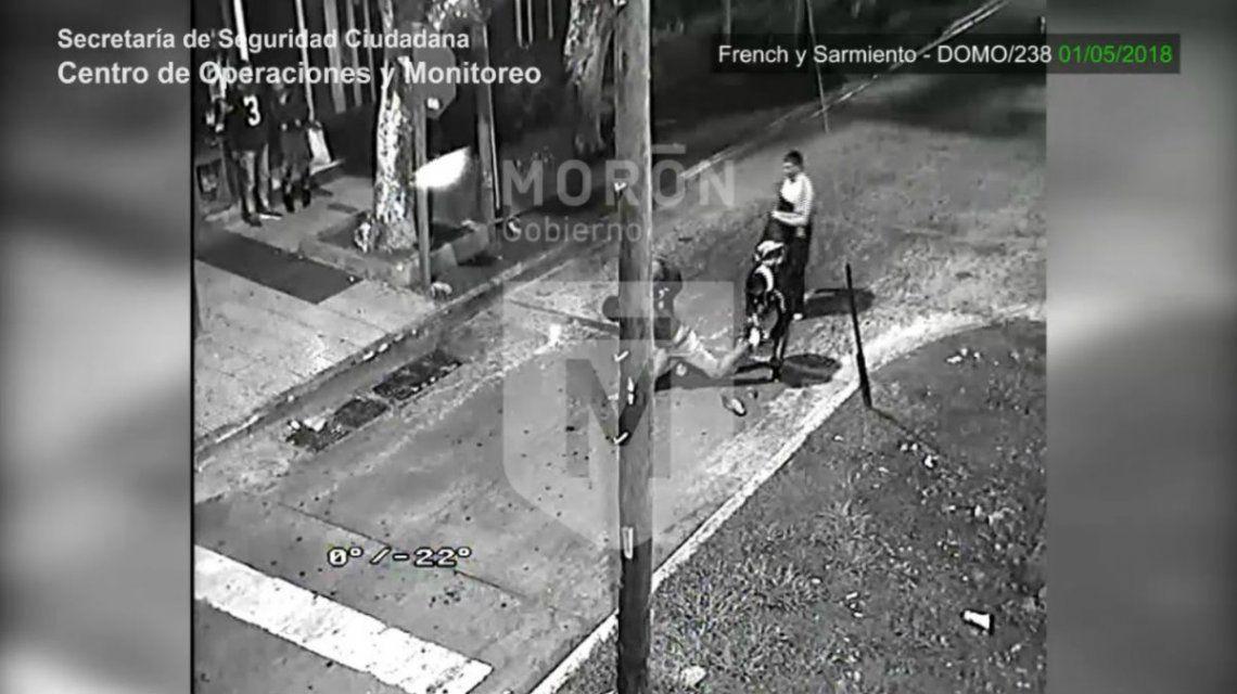 Las cámaras de seguridad del Municipio de Morón sirvieron como prueba en un juicio