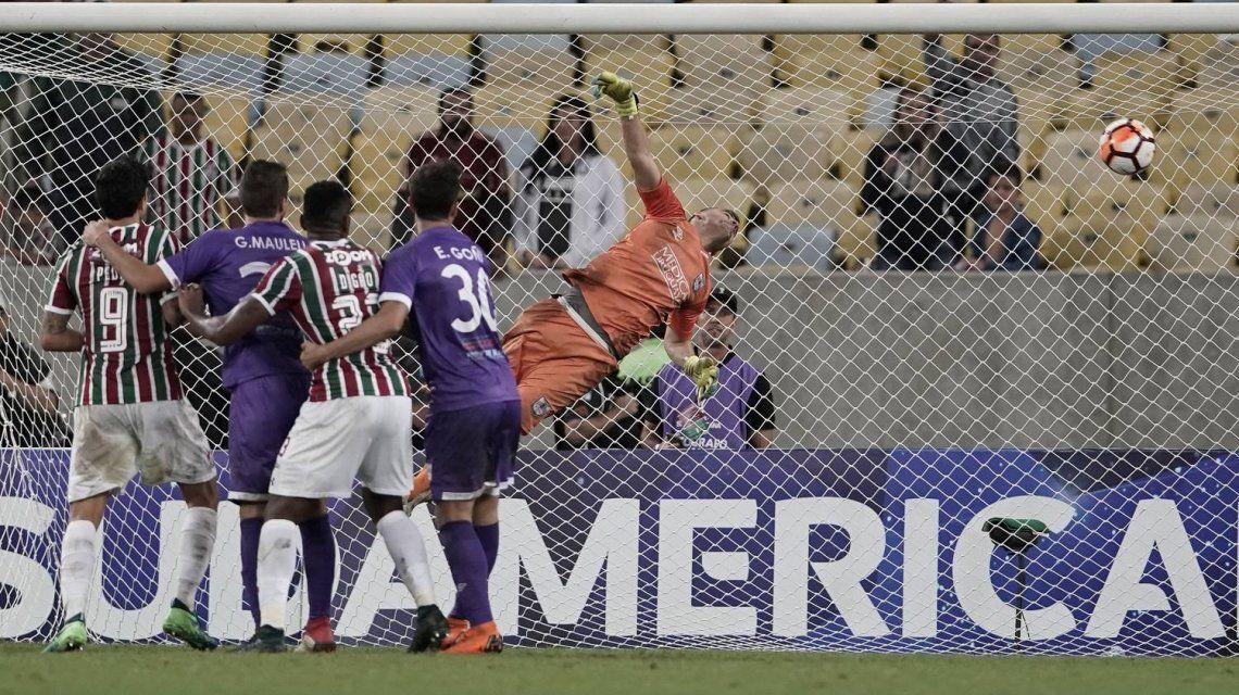 Junior Sornoza marcó un gol antológico