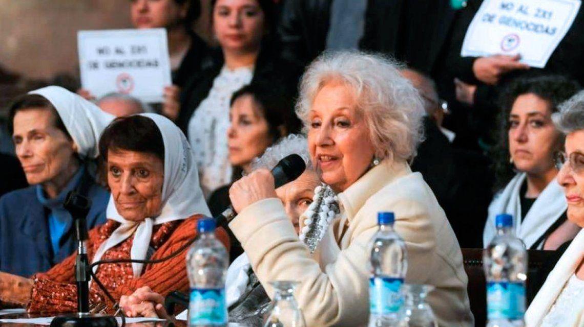 Estela de Carlotto, sobre el pedido de Etchecolatz: Reclama algo que es insólito
