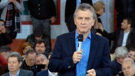 Macri, a los jubilados: Con los préstamos de la ANSES se pueden arreglar escapes de gas