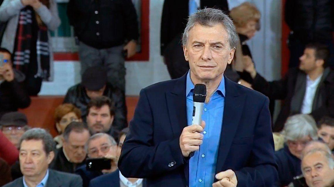 Si se encuentran con un pedido indebido, acá tienen un presidente al cual acudir: la frase de Macri a los empresarios