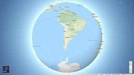 Google Maps cambió de diseño y ahora muestra la curvatura de la Tierra