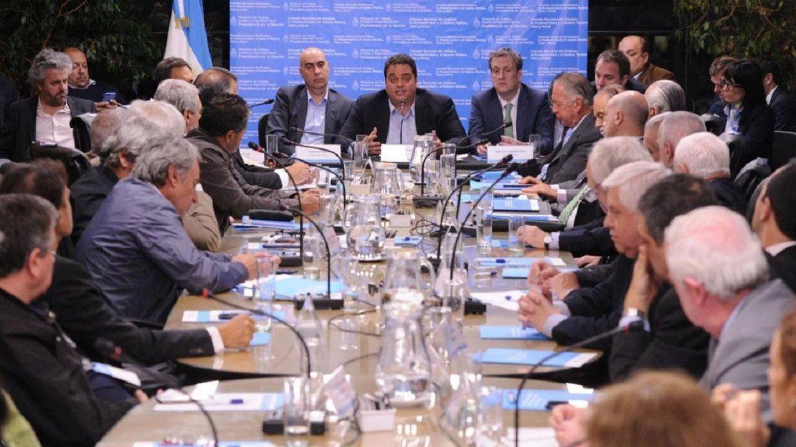 Reunión del Consejo del Salario en 2017