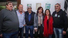 Hugo Moyano y Cristina Kirchner, juntos