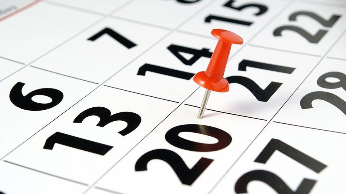 Empezó agosto y ya te preguntás: ¿cuándo será el próximo fin de semana largo?