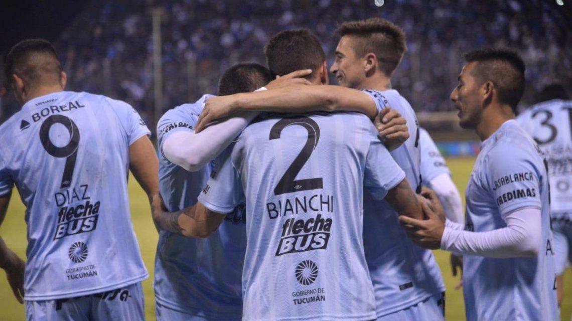 Atlético Tucumán eliminó a Huracán con un gol de Leandro Díaz