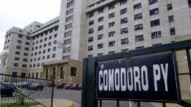 Reforzaron la seguridad en Comodoro Py tras el episodio en la casa de Bonadio
