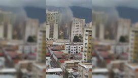 Este sábado se registraron dos explosiones en el centro de Caracas