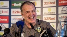 Marcelo Bielsa en Leeds United - Crédito:@LUFC