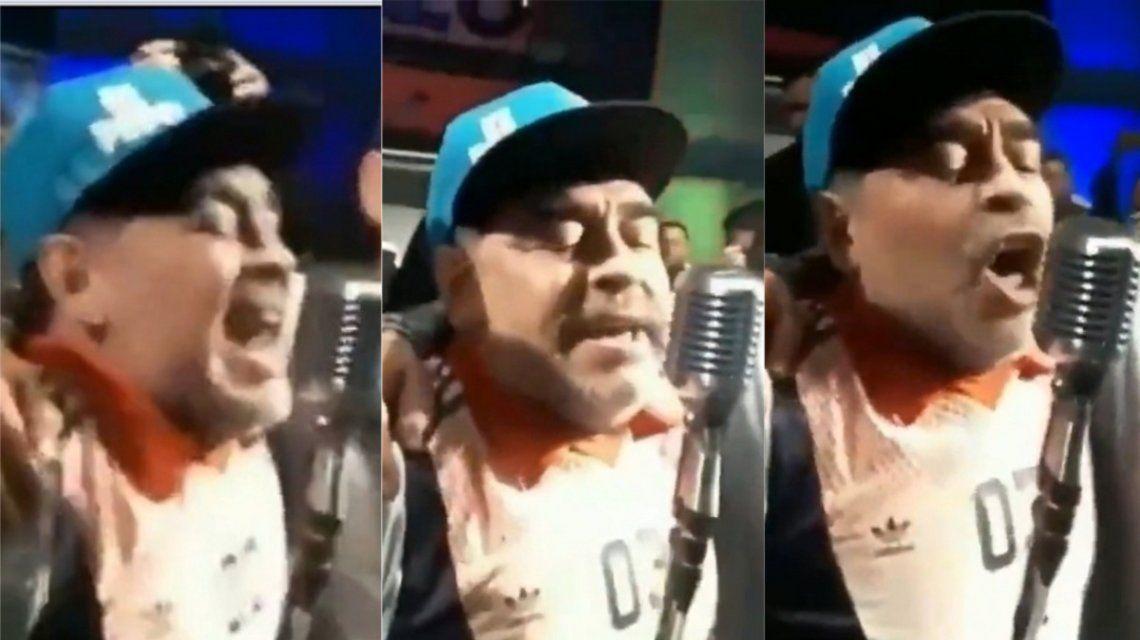 El insulto de Maradona a Macri