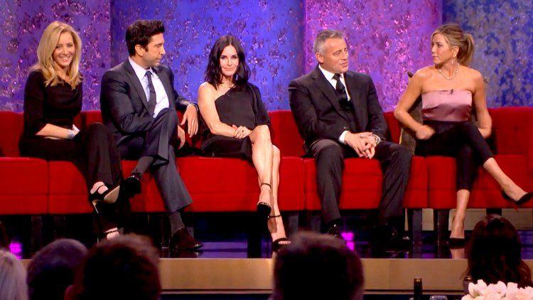 Jennifer Aniston con los Friends