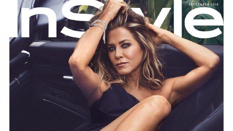 Jennifer Aniston en la tapa de InsStyle