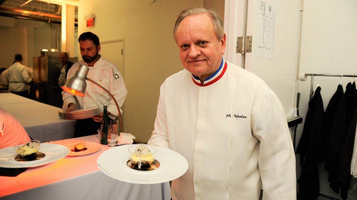 Murió Joël Robuchon, el chef del Siglo
