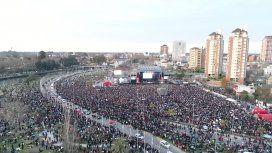 El festival 40 años con Abuelas hizo vibrar a miles de personas en Tigre