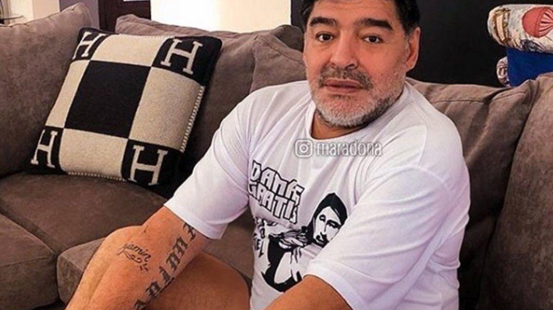Diego Maradona - Crédito: Instagram maradona
