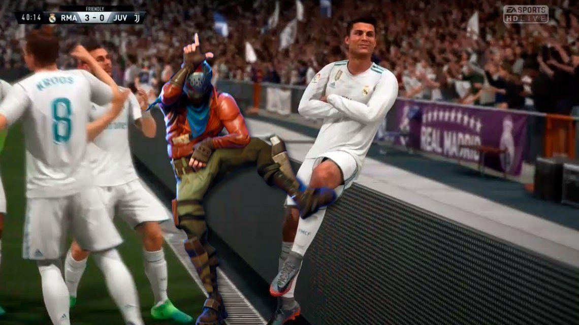Los bailes de Fortnite podrían llegar al FIFA 19