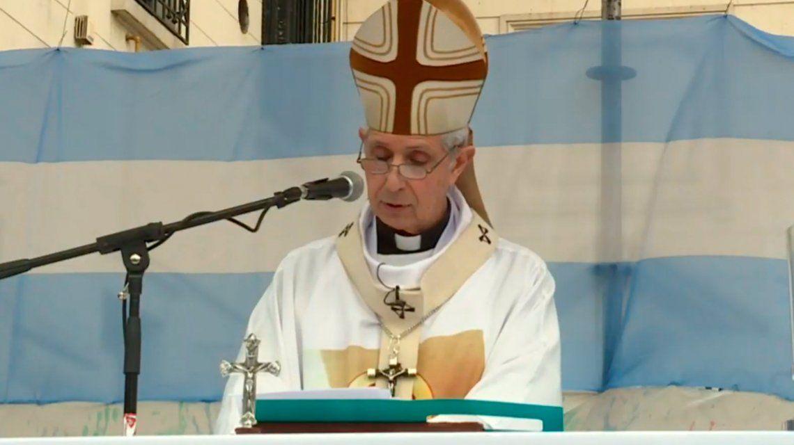El arzobispo Poli hizo un llamado a la unidad de los argentinos en la peregrinación a Luján